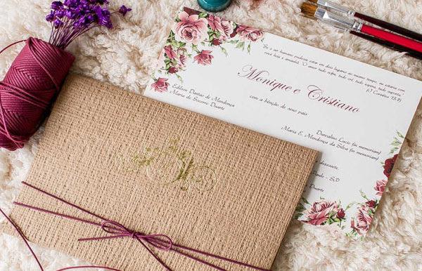 Convite de Casamento- Como escolher o que mais combina com o estilo do seu evento